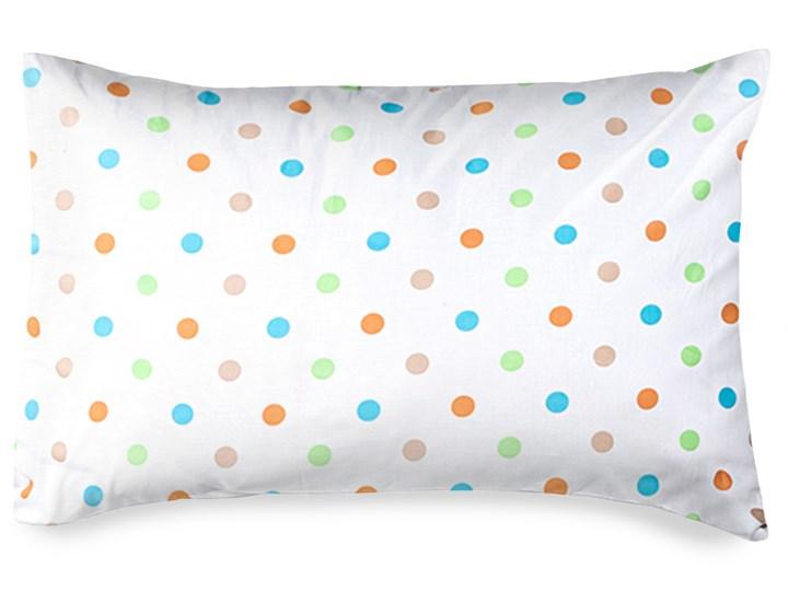 4home Poszewka na poduszkę Dots pomarańczowego, 50 x 70 cm