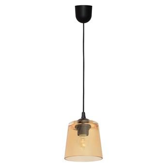 Lampa klosz LUCEA W-KM 8010/1 BK+GO