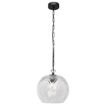 Lampa szklana wisząca MARILLA W-KM 8011/1 TR+BK