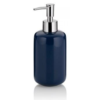Dozownik na mydło ceramiczny 400ml Kela granatowy kod: KE-20510