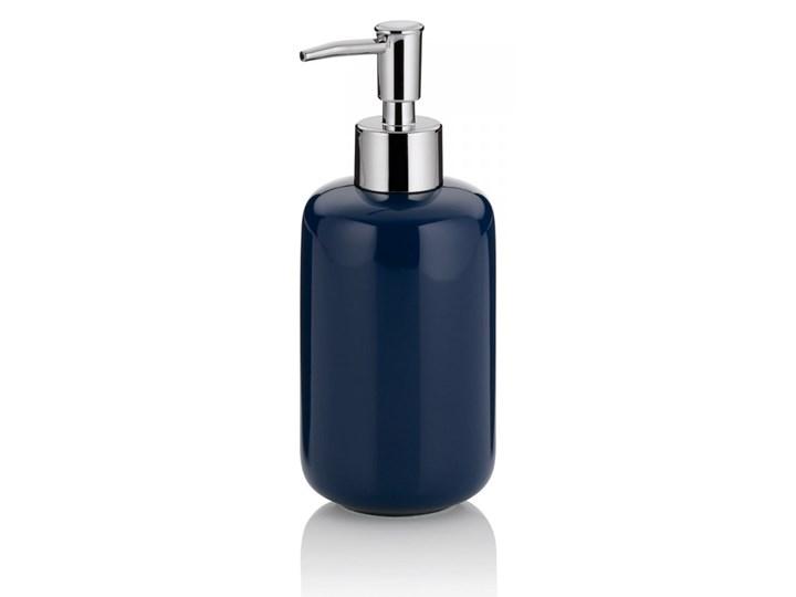 Dozownik na mydło ceramiczny 400ml Kela granatowy kod: KE-20510 Ceramika Dozowniki Kategoria Mydelniczki i dozowniki