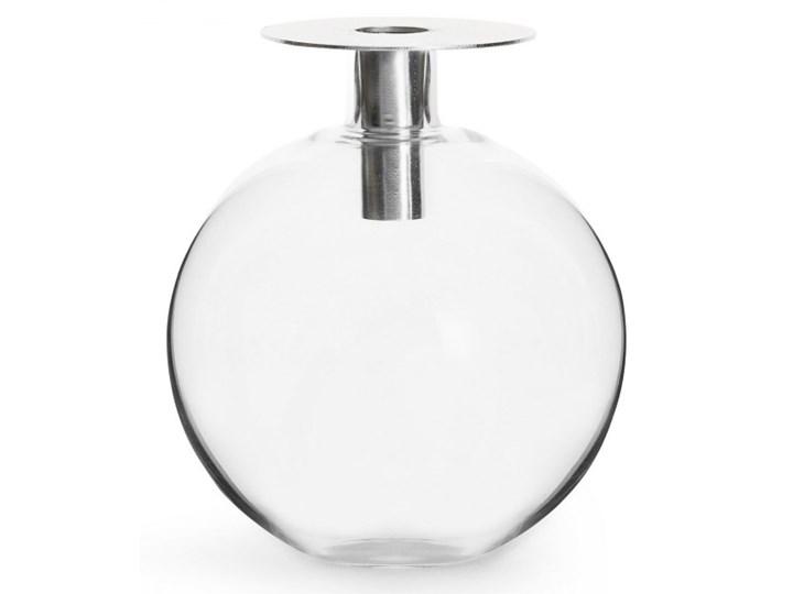 świecznik/wazonik, wys. 18 cm, srebrny kod: SF-5018059