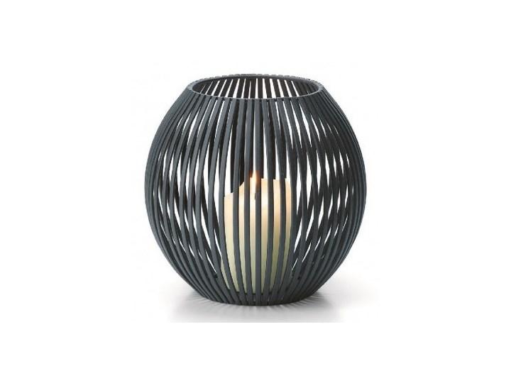 Latarenka Luisiana, S kod: P153007 Lampion Stal Kategoria Świeczniki i świece Metal Świecznik Kolor Czarny