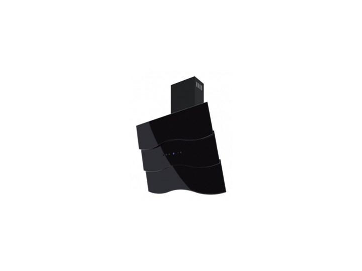 Okap przyścienny Toflesz OK-6 Fala 80 czarny 700 m3/h