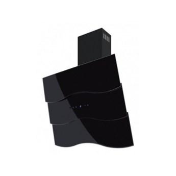 Okap przyścienny Toflesz OK-6 Fala 80 czarny 850 m3/h
