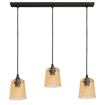 Lampa na listwie LUCEA W-L 8010/3 BK+GO