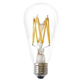 Żarówka FILAMENT LED E27 5W ciepła 1800K ST64 łezka