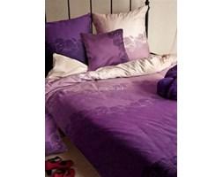 Pościel satyna bawełniana Essential Collection odcienie fioletu 160x200