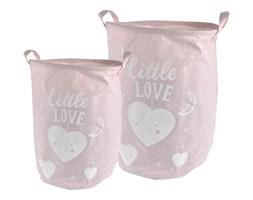 Kosze na pranie dziecięce SWEET, 2 rozmiary, różowe