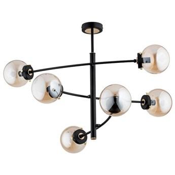 Nowoczesna lampa sufitowa HYPER VI czarny śr. 82cm