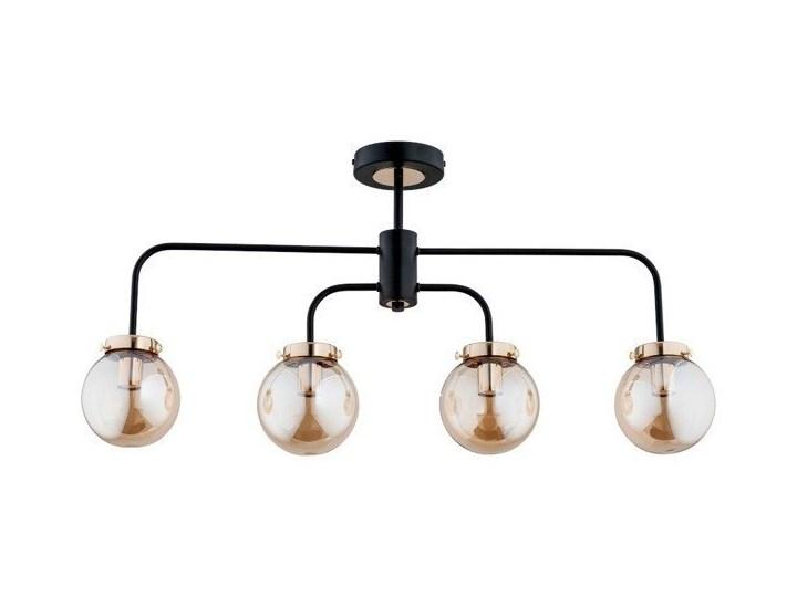 Lampa świecznik nad stół LINIO BLACK KULA IV 81cm