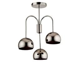Lampa sufitowa żyrandol GLAMOUR czarny chrom śr. 44cm