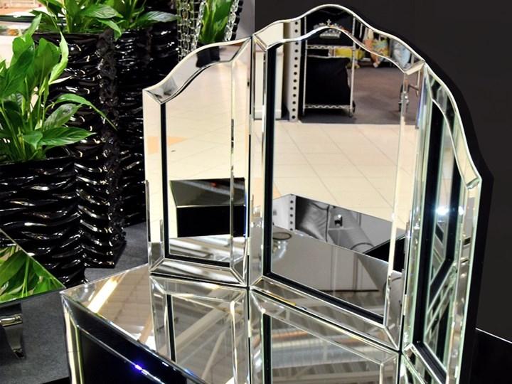 Lustro 3 - częściowe glamur  54x78cm Nieregularne Stojące Styl Nowoczesny Lustro z ramą Lustro bez ramy Styl Klasyczny