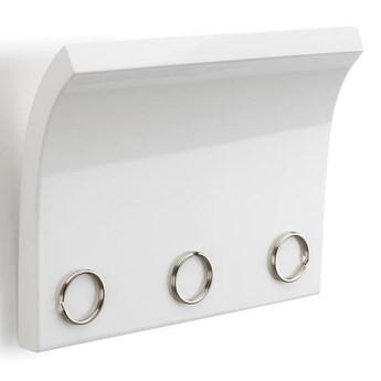 panel na klucze i listy MAGNETTER biały UMBRA