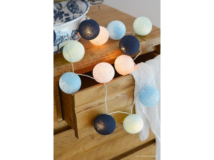 BIG BLUE Cotton Ball Lights
