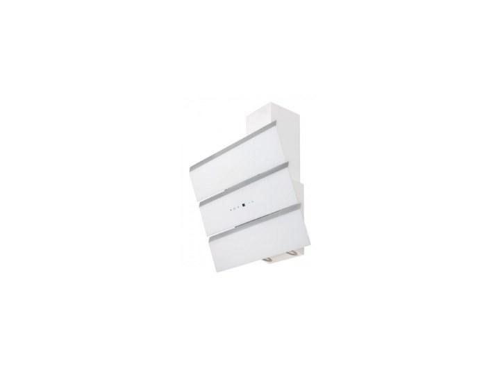 Okap przyścienny Toflesz OK-6 CASCADA 90 Biały 850 m3/h Okap kominowy Sterowanie Elektroniczne