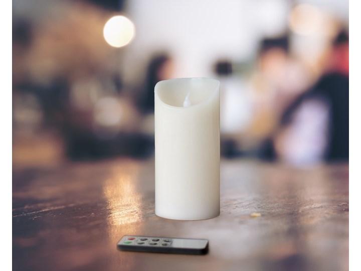 Świeczka LED- Wosk Naturalny + Pilot - 15cm;7,5cm - 15cm;7,5cm
