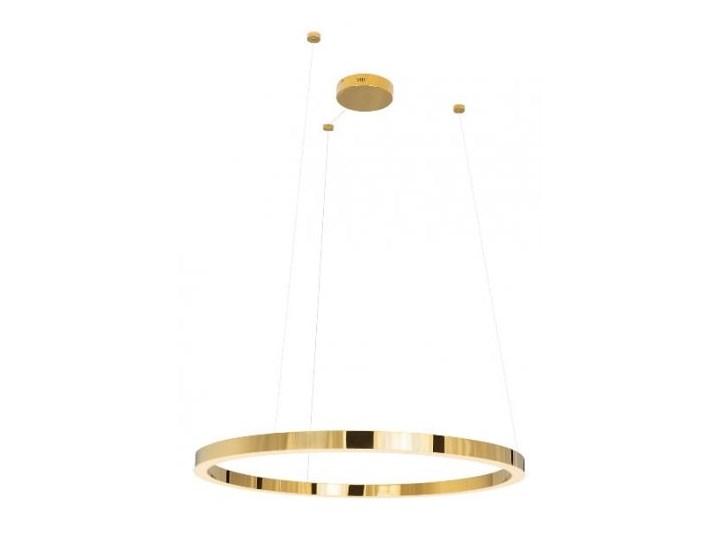 Luxury P0370 lampa wisząca złota duża Metal Styl Glamour Lampa LED Styl Nowoczesny