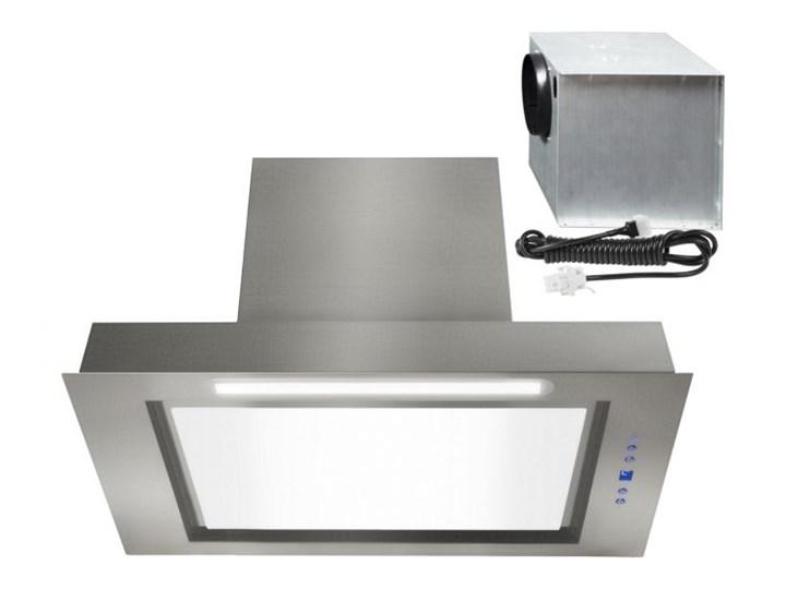 Okap podszafkowy Micra White External 89,5 cm Okap do zabudowy Sterowanie Elektroniczne