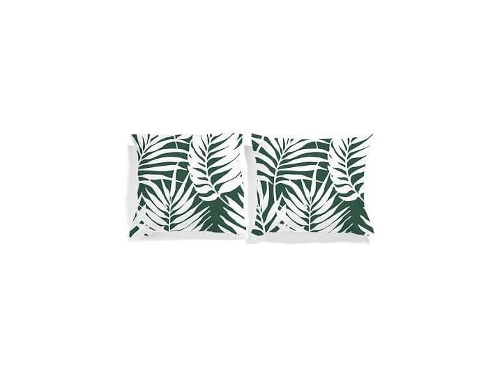 """Zestaw dwustronnych poszewek """"Białe palmy"""""""