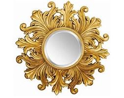 FIORE złote lustro dekoracyjne - słońce, Ø 50 cm