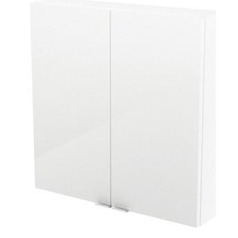Szafka wisząca GoodHome Imandra 60 x 60 x 15 cm biała