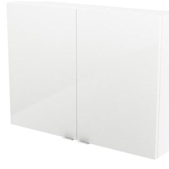 Szafka wisząca GoodHome Imandra 80 x 60 x 15 cm biała