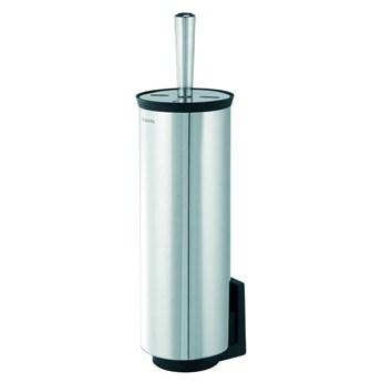 Brabantia - Szczotka do WC w obudowie, mocowana do ściany - stal polerowana