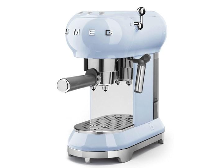 Smeg - Ekspres do kawy kolbowy - pastelowy błękit