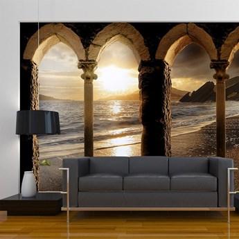 Fototapeta - Zamek na plaży