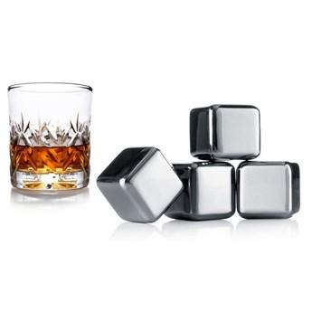 Vacu Vin - Stalowe kostki chłodzące do whiskey