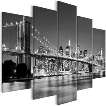 Obraz - Sen o Nowym Jorku (5-częściowy) szeroki
