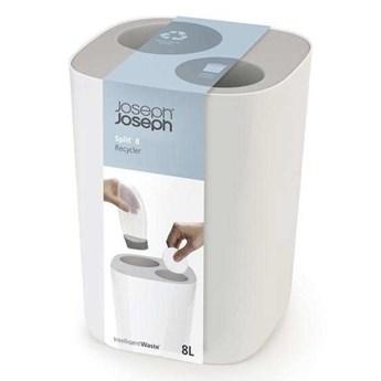 Joseph Joseph - Kosz łazienkowy do segregacji odpadów, szary Split™