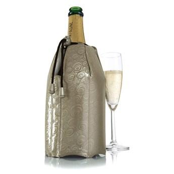 Vacu Vin - Aktywny schładzacz do szampana, platynowy