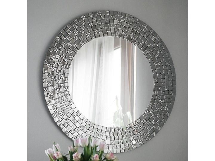 Lustro dekoracyjne AUREA EXCLUSIVE Okrągłe Ścienne Lustro z ramą Styl Klasyczny