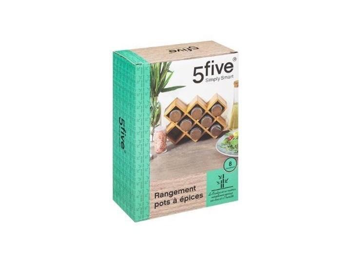 Stojak na przyprawy bambusowy, 24 x 16 cm, 5five Simply Smart Kategoria Przyprawniki