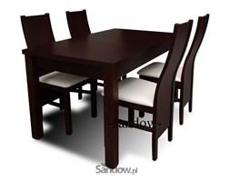 stół S-18 70x120x160, 80x120x150 + 4 krzesła K-48