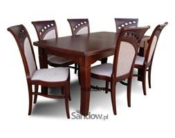 stół do salonu S-26 100x160x400 + 6 krzeseł K-49