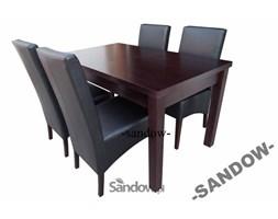 stół S-18 70/80x120x150 + 4 krzesła K-44
