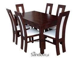 stół S-18 90x160x215/90x140x210 + 6 krzeseł K-41A