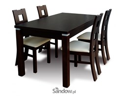 stół S-18 70/80x120x150 + 4 krzesła K-42