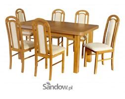 Stół Wenus-P V zaowal 90x160x200 (1x40) + 6 Krzeseł Piano