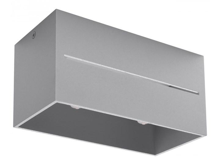 Lampa natynkowa LOBO MAXI Szara kod: SX-SL.0385 Oprawa led Oprawa stropowa Prostokątne Kategoria Oprawy oświetleniowe