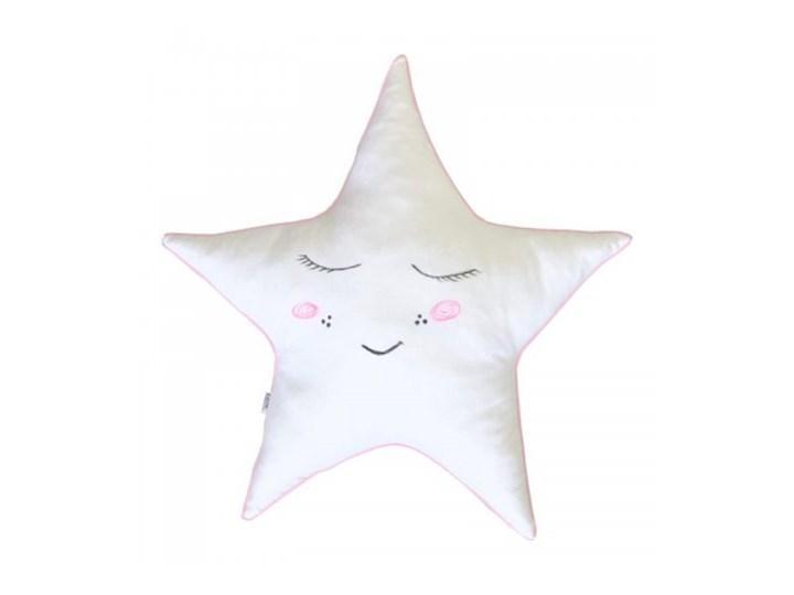 Poduszka ozdobna - Gwiazda ze śpiącą buźką