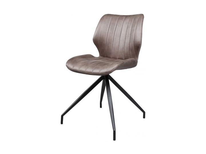 Krzesło Fonito 45x82 cm brązowe