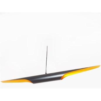 Lampa wisząca BLACK TUBE czarno-złota ST-0502-1 Step Into Design ST-0502-1