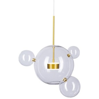 Lampa wisząca BUBBLES 3+1 LED ST-0801-3+1 Step Into Design ST-0801-3+1 gold