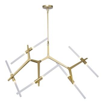 Lampa wisząca STICKS-10 złota ST-1001-10 GOLD Step Into Design ST-1001-10 gold