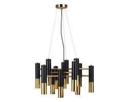 Lampa wisząca GOLDEN PIPE-13 czarno-złota ST-5719-13 Step Into Design ST-5719-13 | SPRAWDŹ RABAT W KOSZYKU !