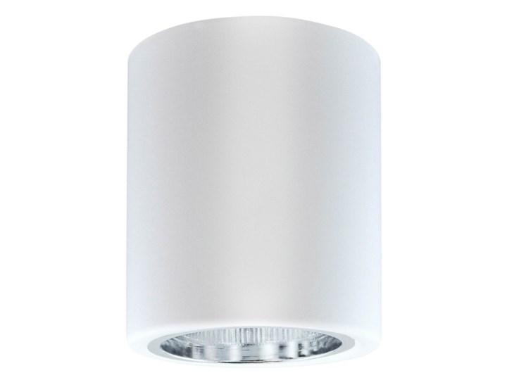 Oprawa natynkowa Polux Merkury okrągła 10 cm biała Oprawa stropowa Okrągłe Oprawa halogenowa Kolor Biały